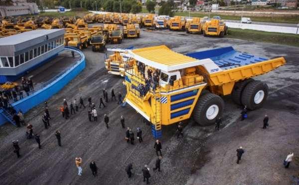 รถบรรทุกที่ใหญ่ที่สุดในโลก!