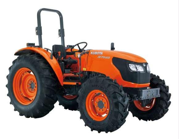 ขนาดยางรถไถ แทรคเตอร์ คูโบต้า Kubota M7040 Agricultural Tractor