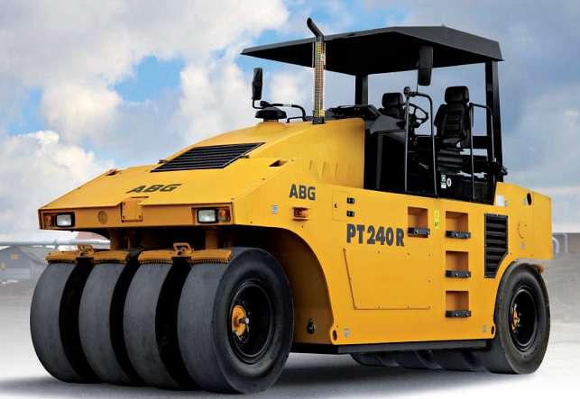 ขนาดยางรถบด VOLVO รุ่น PT240R (Compactor Tire Size)