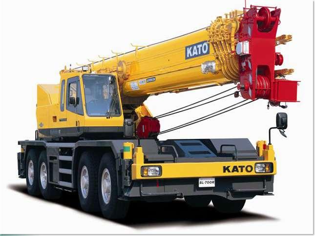 ขนาดยางรถเครน KATO รุ่น SL700R (Rough Terrain Crane Tires)