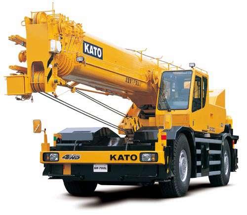 ขนาดยางรถเครน KATO รุ่น SR700L (Rough Terrain Crane Tires)